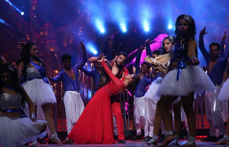 Divyanka Tripathi and Karan Patel