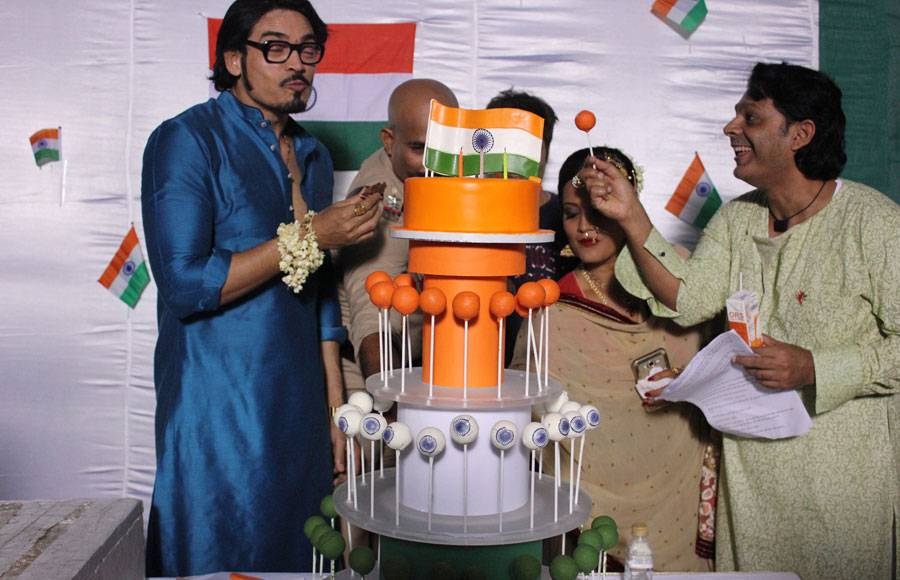 Independence day celebration on the sets of Zee TV's Amma