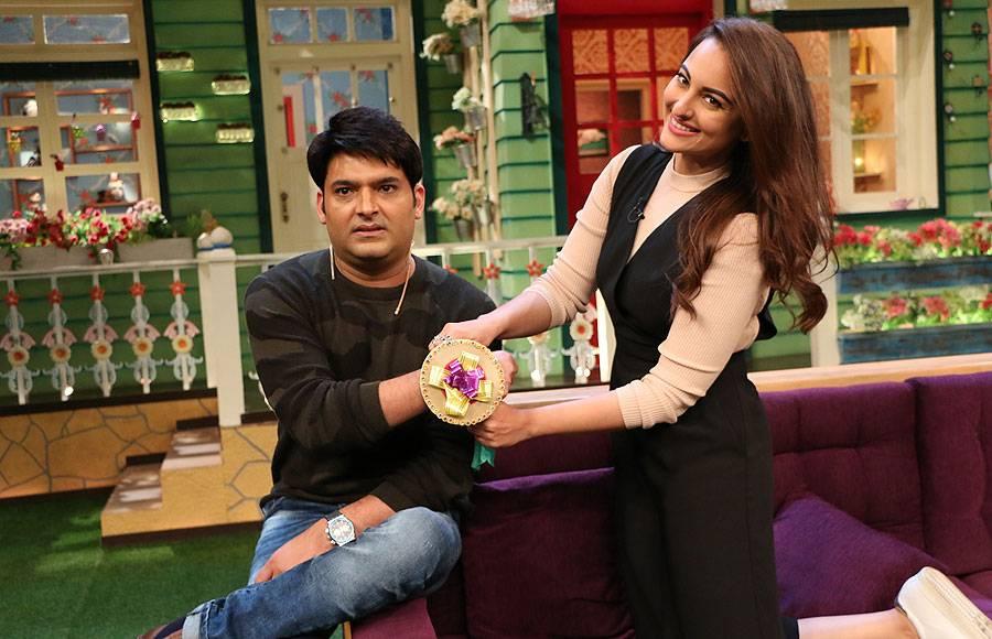 Kapil Sharma and Sonakshi Sinha