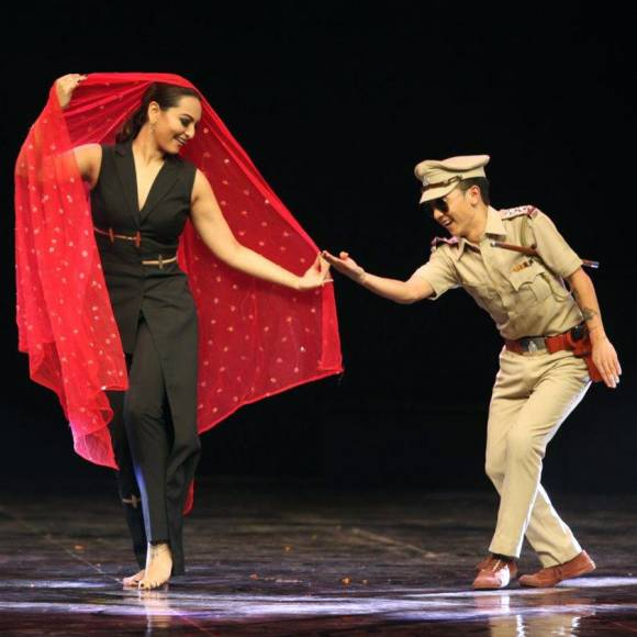Sonakshi Sinha and Remo Dsouza