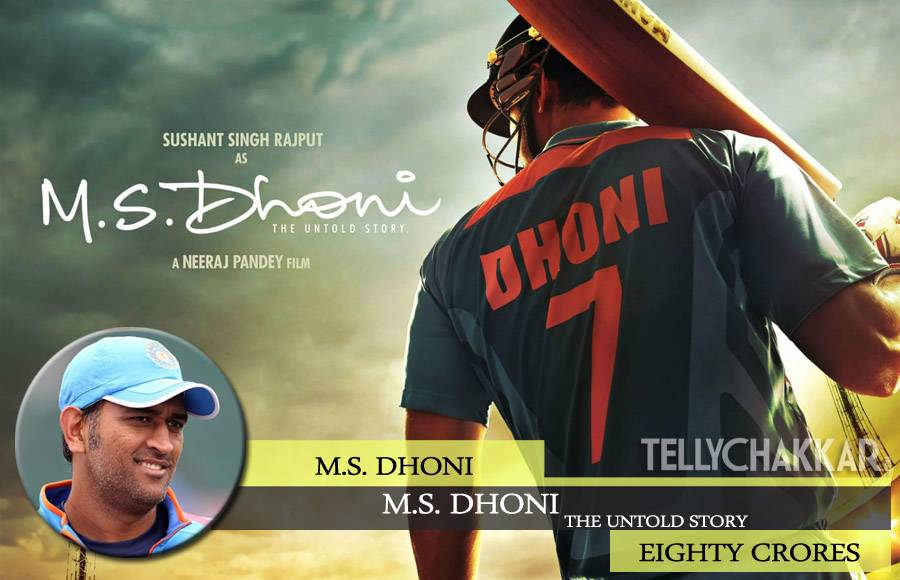 Mahendra Singh Dhoni for MS Dhoni: The Untold Story