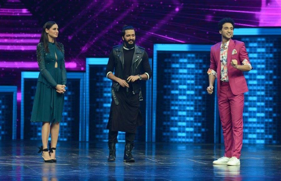 Riteish Deshmukh, Nargis Fakhri and Remo D'souza