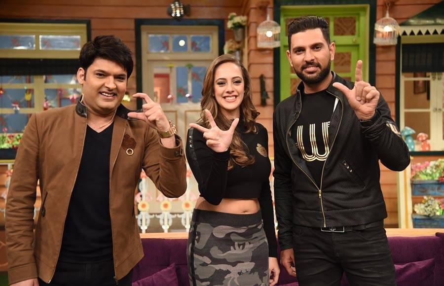 Yuvraj Singh and fianc