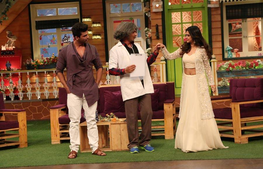 'Beyhadh' team on The Kapil Sharma Show