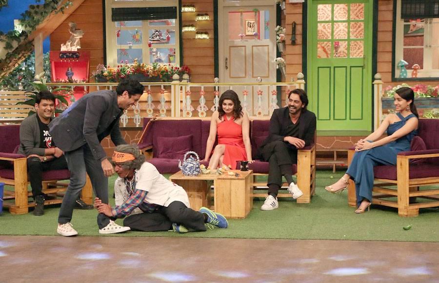 Rock On 2 Team on The Kapil Sharma Show