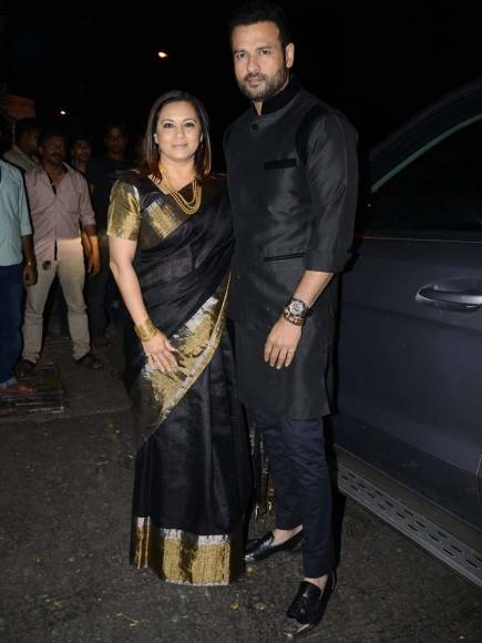 Sunny Leone with husband Daniel