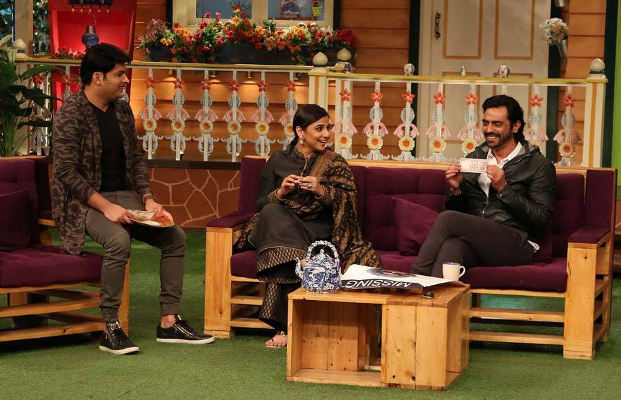 Vidya Balan and Arjun Rampal on The Kapil Sharma Show