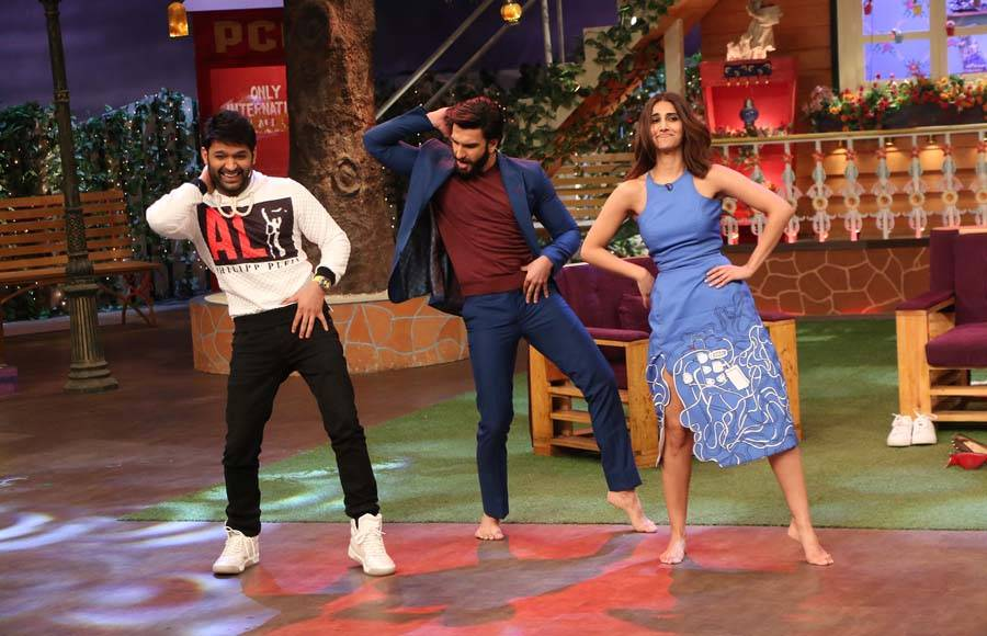 'Befikre' team have a gala time at The Kapil Sharma Show