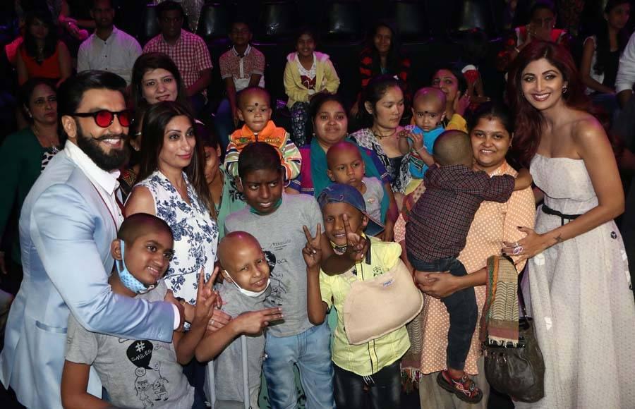 Ranveer Singh and Vaani Kapoor on 'Super Dancer'