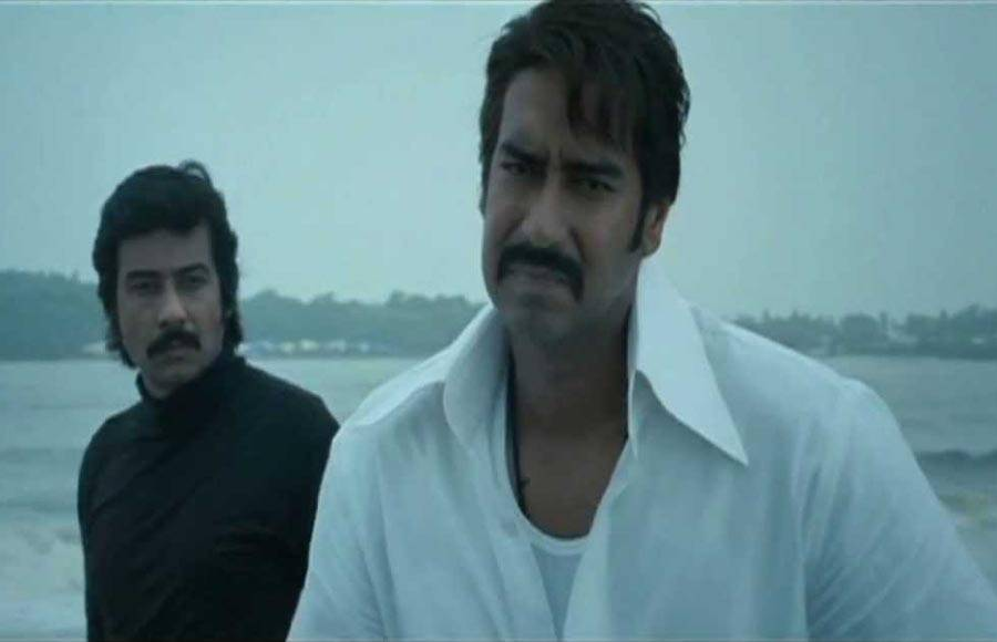 Ajay Devgn as Haji Mastan in Once Upon A Time In Mumbaai