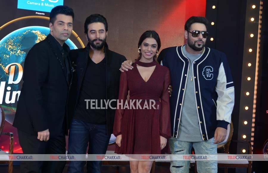 Karan Johar, Shekhar Ravjiani, Shalmali Kholgade and Rapper Badshah