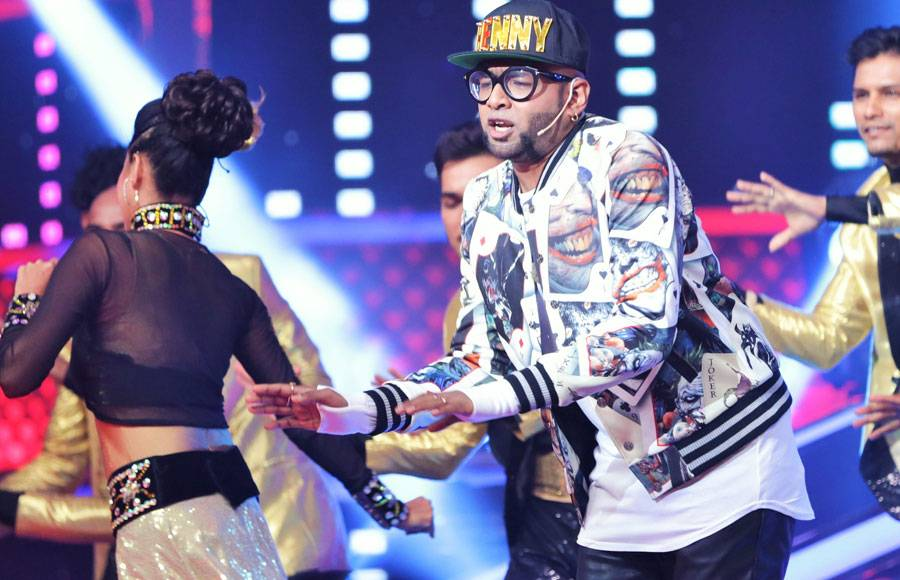 Grand opening of &TV's The Voice India Season 2