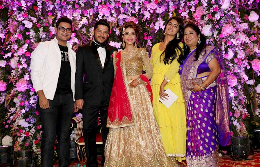 Dimple Jhangiani's rocking 'reception' party