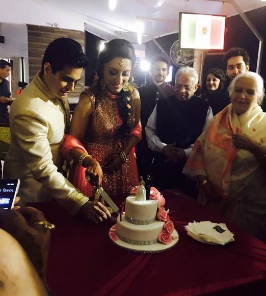 Just Married: Aman and Vandana