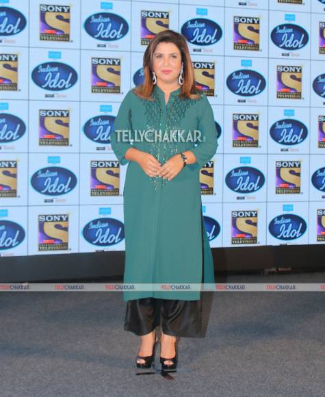 Launch of Sony TV's Indian Idol 9