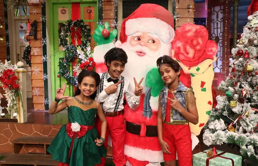 Super Dancer kids on The Kapil Sharma Show