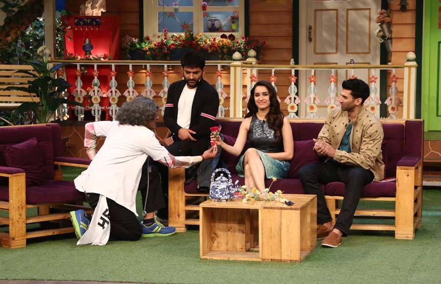 Shraddha Kapoor-Aditya Roy Kapur and Kapil Sharma