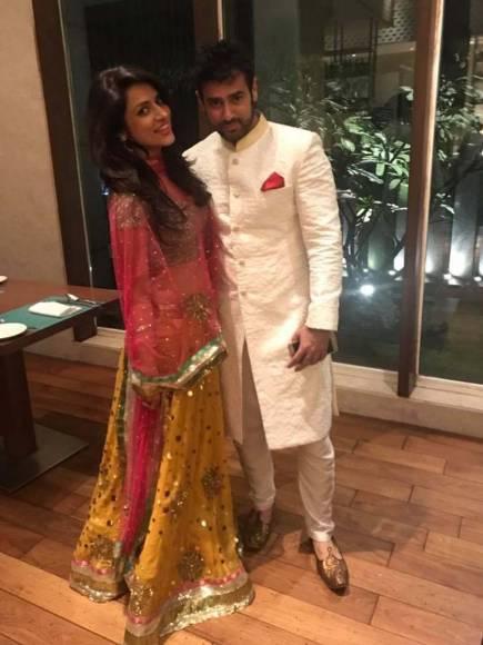Wedding pics of Amit Varma