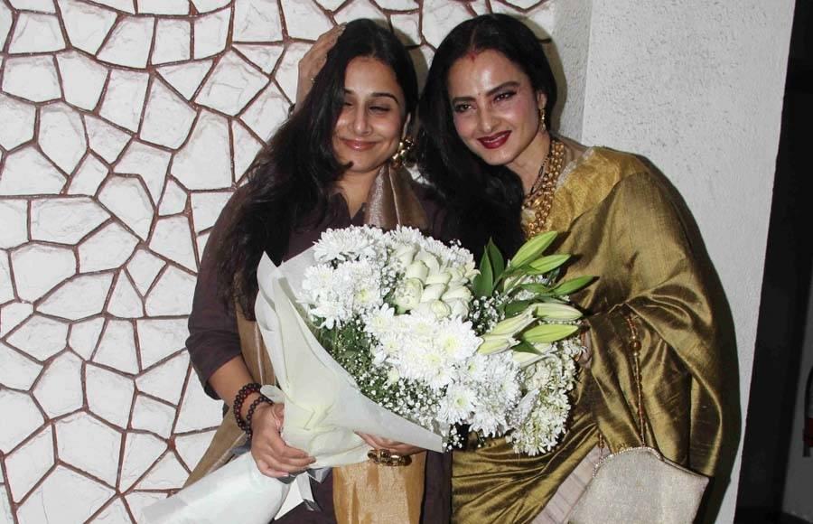 Celebs at Javed Akhtar's BIRTHDAY bash