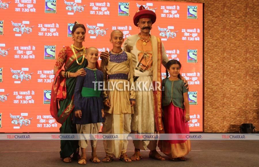 Launch of Peshwa Bajirao on Sony TV
