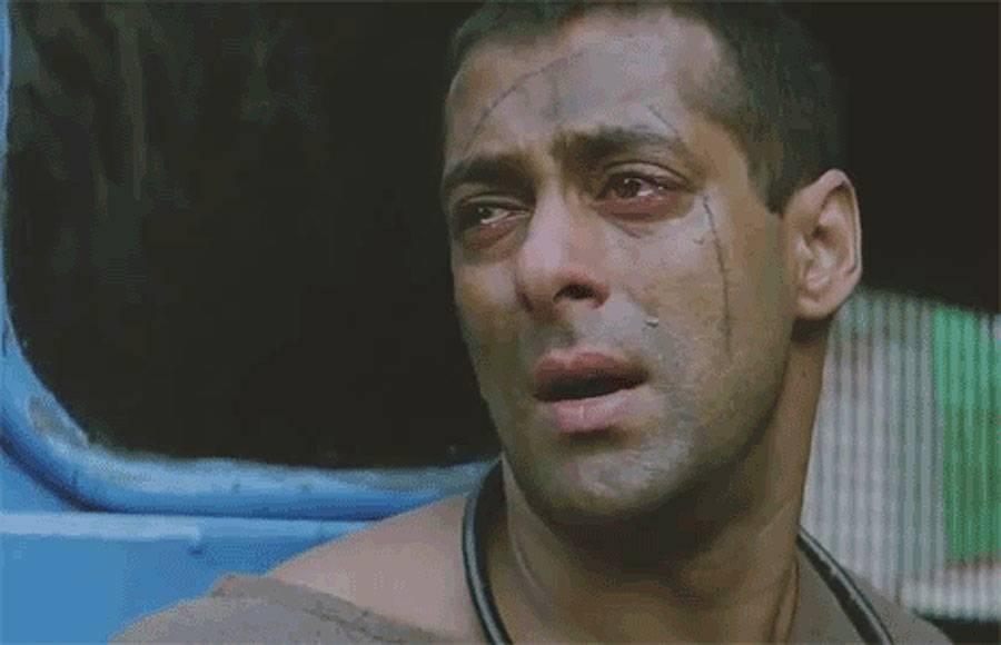 Shah Rukh Khan as Vijay in Anjaam