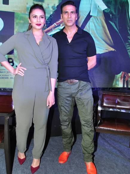 Huma Qureshi and Akshay Kumar