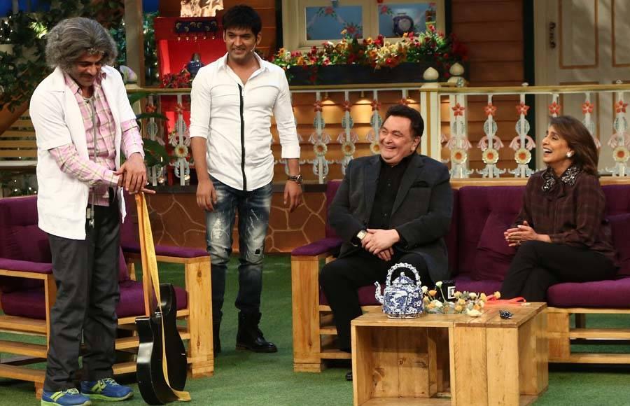 Neetu and Rishi Kapoor on The Kapil Sharma Show