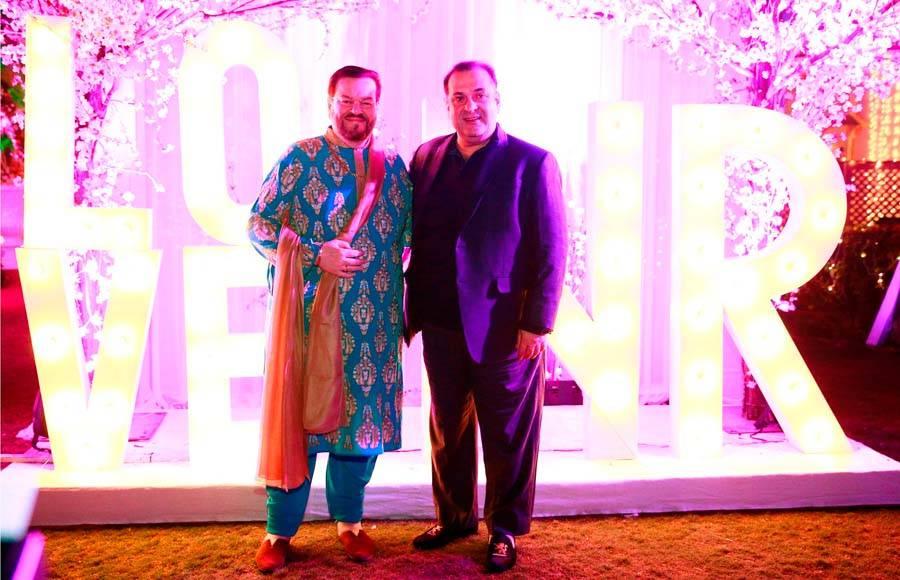 Rukmini Sahay and Neil Nitin Mukesh