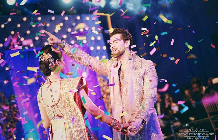 Neil-Rukmini's Sangeet Ceremony