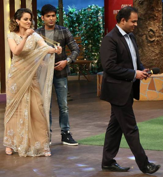 Shahid and Kangana promote 'Rangoon' on The Kapil Sharma Show