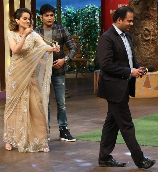 Shahid and Kangana promote 'Rangoon' on The Kapil Sharma Show