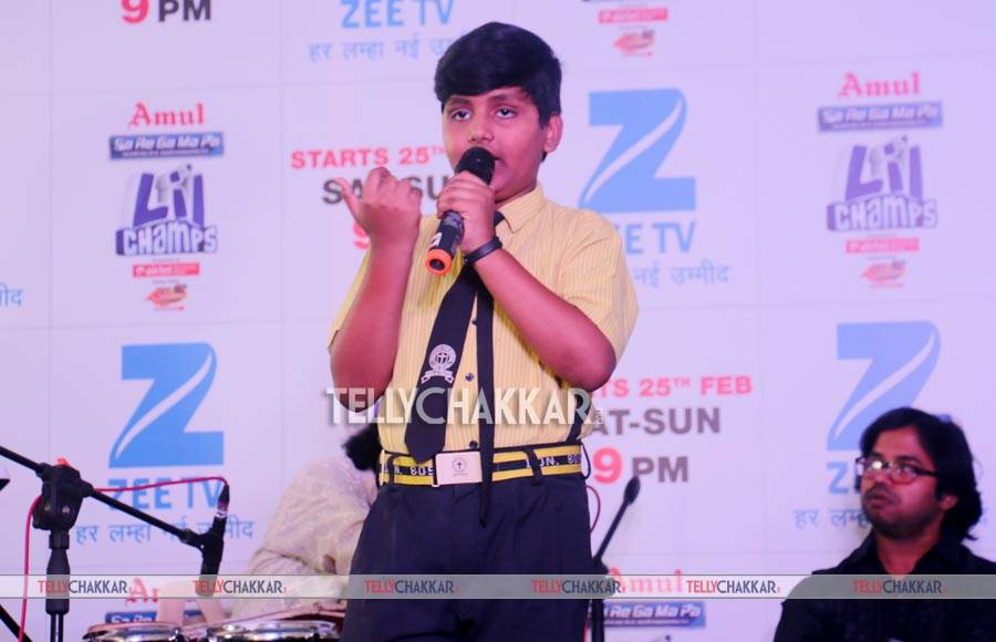 Zee TV launches Sa Re Ga Ma Pa Li'l Champs