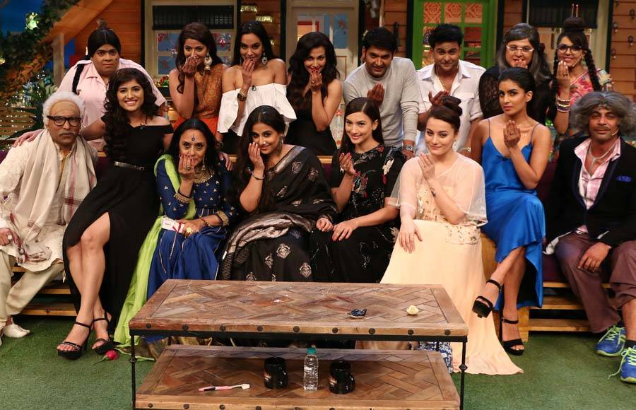 Begum Jaan' cast on The Kapil Sharma Show
