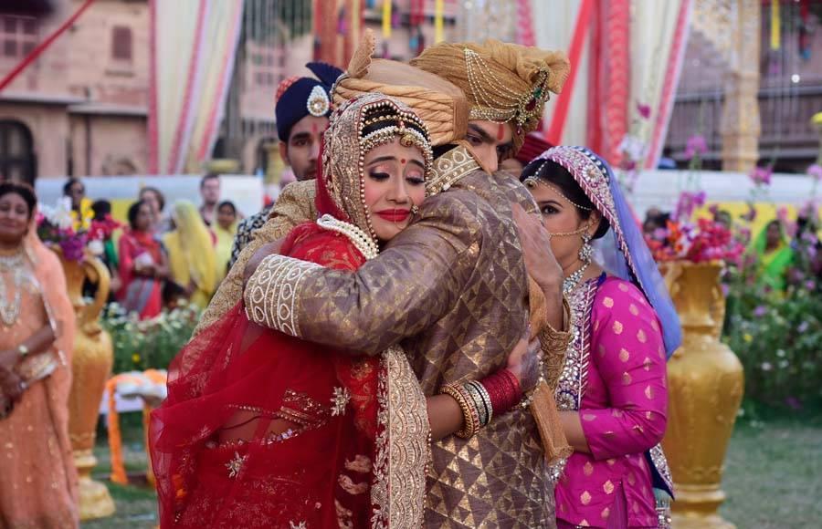 Naira's BIDAAI ceremony