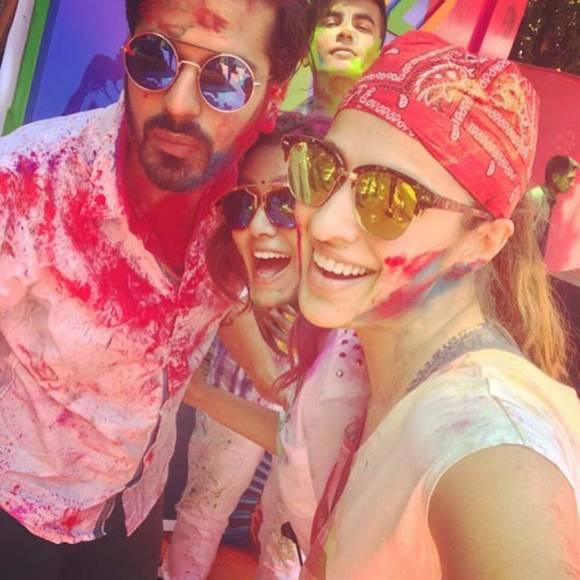 Preity Zinta with her hubby