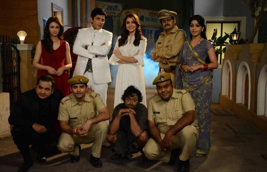 Anushka Sharma along with the star cast of &TV's Bhabhi Ji Ghar Par Hai