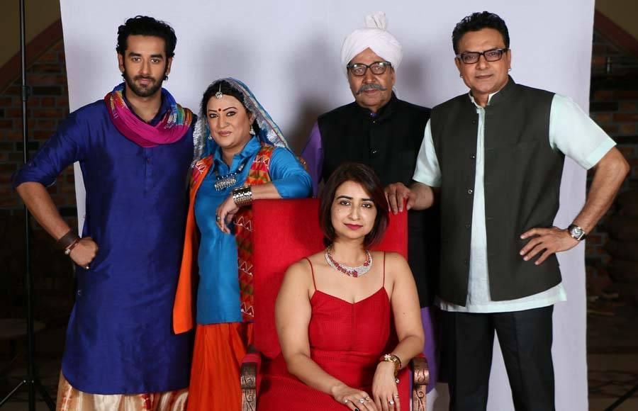 The entire cast of Jaat Ki Jugni along with producer Rashmi Sharma