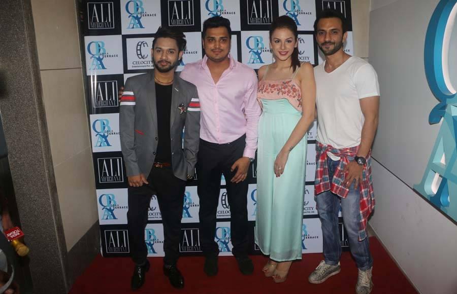L-R Stebin Ben, Raaj Kapadia, Nitibha Kaul and Ali Merchant