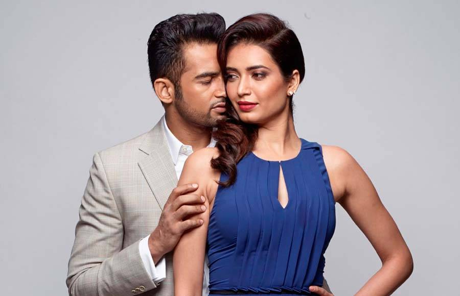 Upen Patel and Karishma Tanna