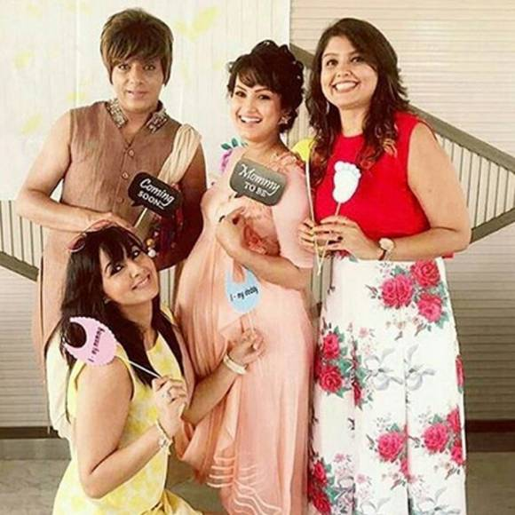 Awwwdorable: Nisha Rawal's Baby Shower