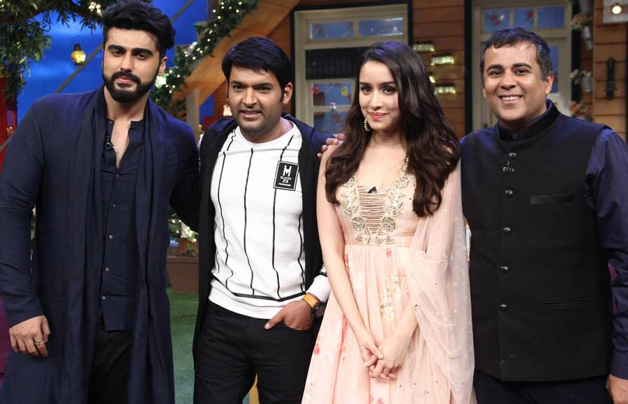 Cast of Half Girlfriend on The Kapil Sharma Show