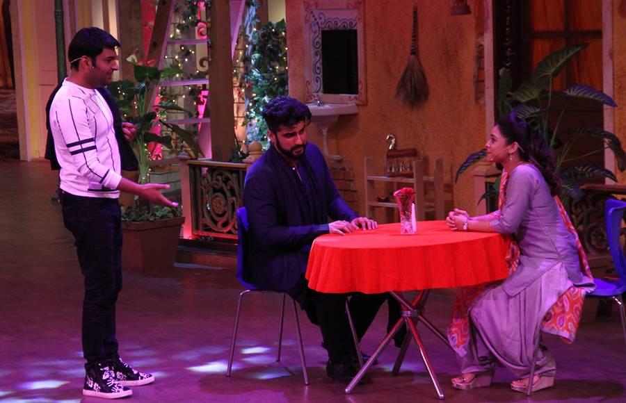Cast of Half Girlfriend on The Kapil Sharma Show