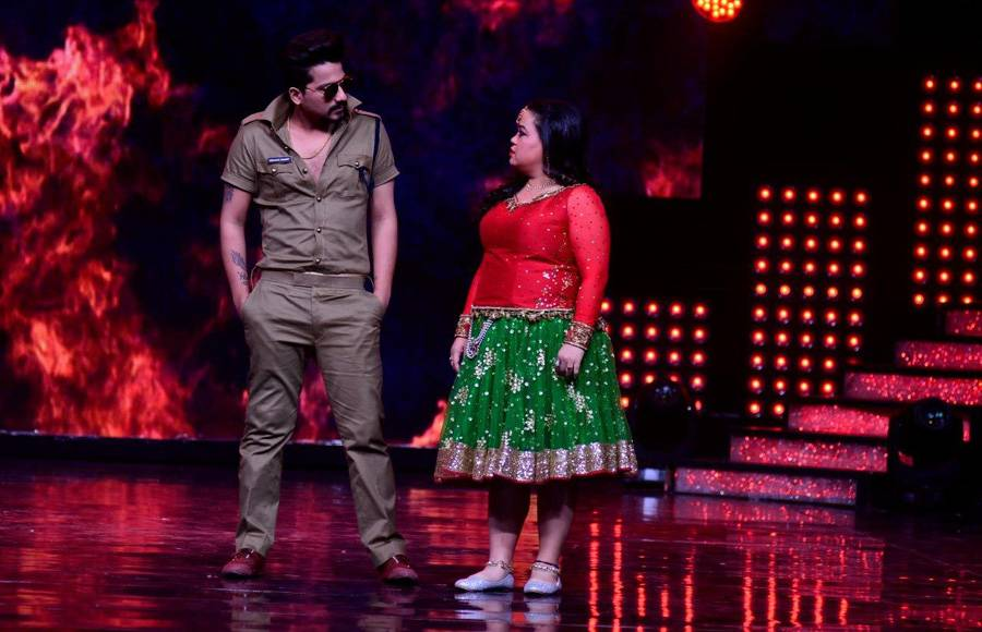 The Judges on Nach Baliye get into some Dumnsharades mode on the sets of Nach Baliye
