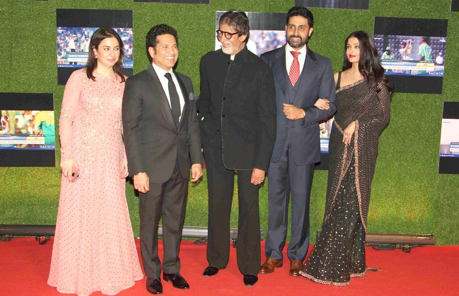 Star studded premiere of Sachin: A Billion Dreams