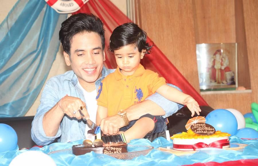 Tusshar Kapoor's son's birthday