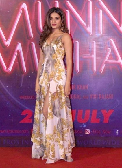 Trailer launch of 'Munna Michael'