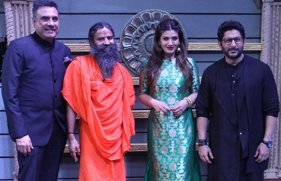 Bank Chor team joins Baba Ramdev on Sabse Bada Kalakaar