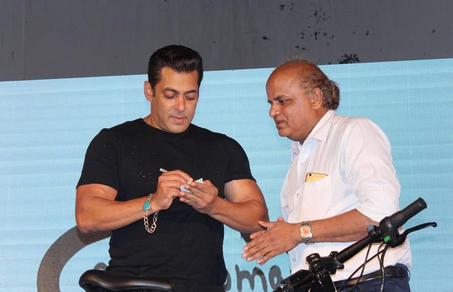Salman Khan launches Being Human E-cycle
