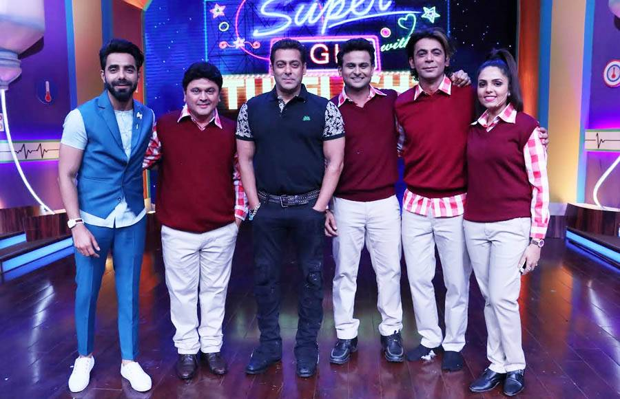 Salman Khan on Super Nights with Tubelight