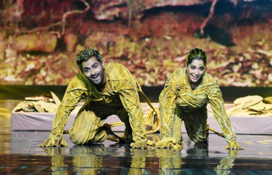 Sridevi & Diljit set the Nach Baliye 8 stage on fire!
